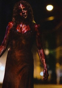 chloe moretz as blood soaked carrie