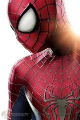 Spider-Man's costume has under-gone a slight redesign which matches the look of the comics