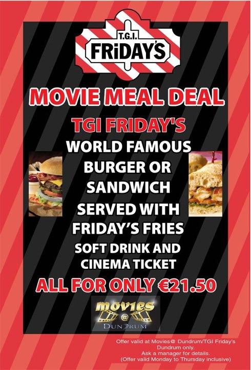 Cinema meal deals belfast