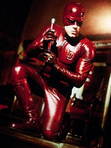daredevil ben affleck pvc red suit