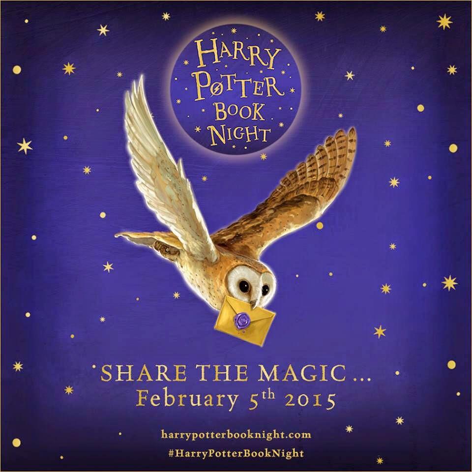 Harry Potter Book Night ~ Feb th harry potter book night at eason s film jam
